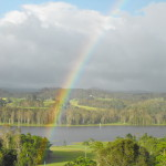 Tinaroo Sunset Retreat at the end of the Rainbow.